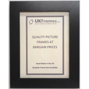 30mm Flat Black Frames