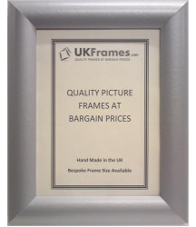 33mm Dome Silver Frames