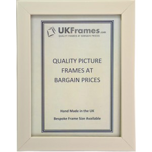 21mm Polish White Frames