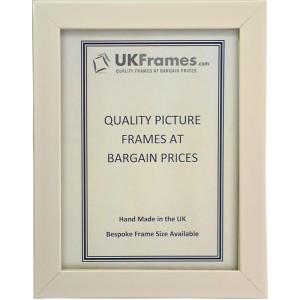 21mm Polish White Frames
