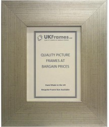 65mm Flat Silver Frames
