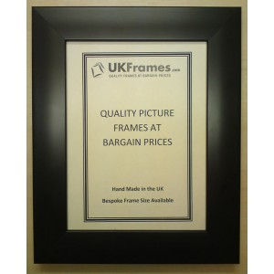 32mm Smooth Flat Black Frames