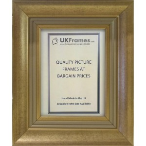 60mm Modern Regency Gold Frames