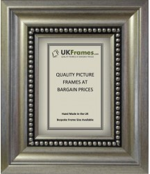 75mm Silver Bead Frames