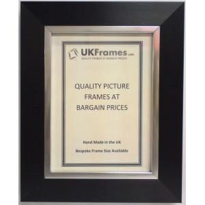 43mm Black Silver Frames