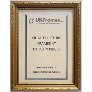 25mm Gold Black Line Frames