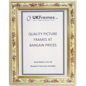 25mm Roses Cream Frames