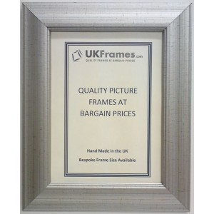 40mm Silver Crackle Frames